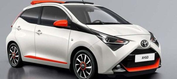 Hatchback Mungil Toyota Tampil Menggemaskan