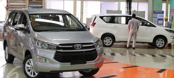 Daftar Mobil Toyota Indonesia yang Laris di Negeri Orang